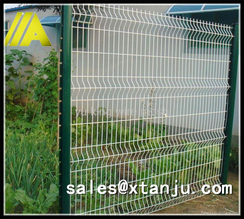 6 Feet High Pvc Coated Welded Wire Mesh Fence Panel - Buy Wire Fence ...