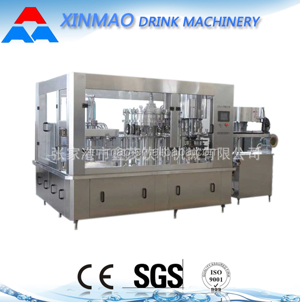 Small bottle/enery drink/carbonated drink filling machine