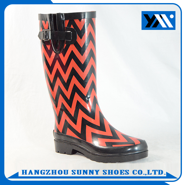 Fashion women wellies rain boots