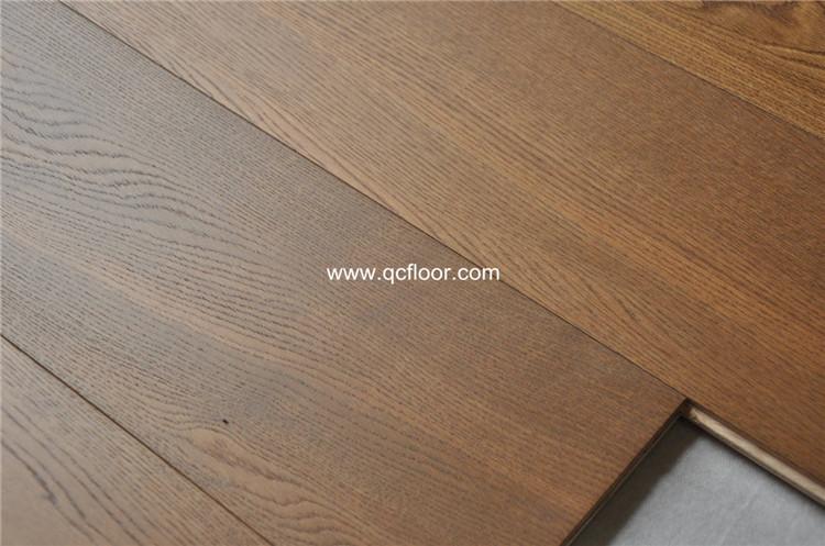 Grote plank gerookt eiken parket houten vloer in guangzhou buy