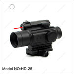 HD-25 military Picatinny 20mm mount weapon sight red dot sight