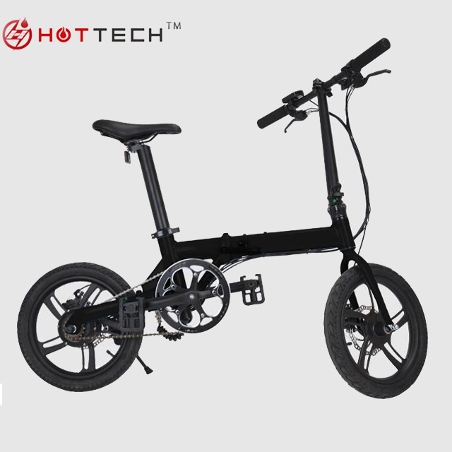 Portable electric bike mini folding e-bike 16 inch 36v 5.2ah battery with <strong>CE</strong>