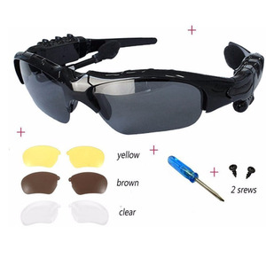 Sexy bluetooth video glasses hand-free phone smart sunglasses