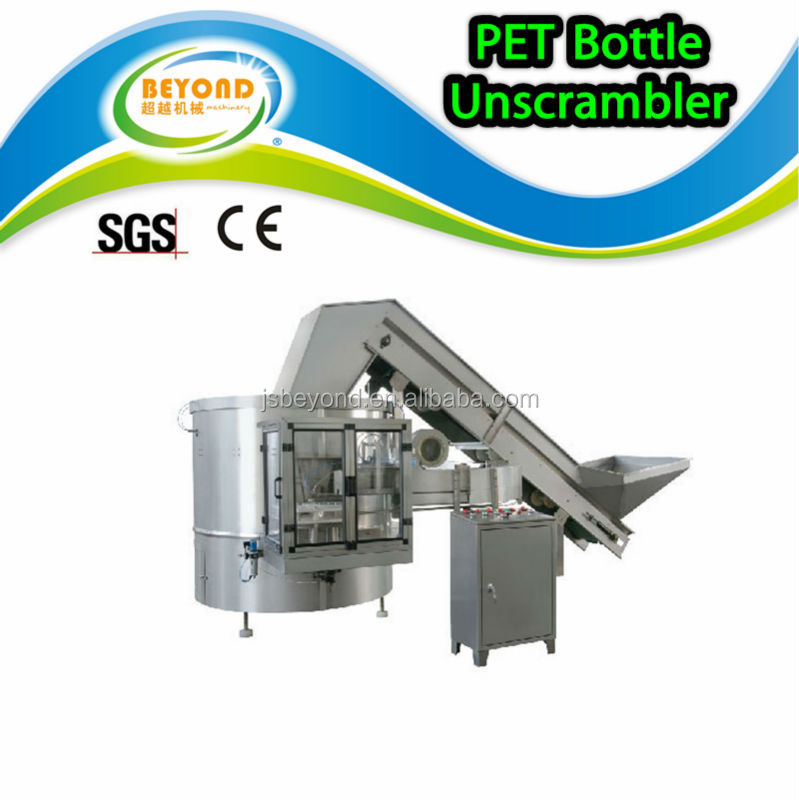 PET Bottle Unscrambler / Sorting Equipment