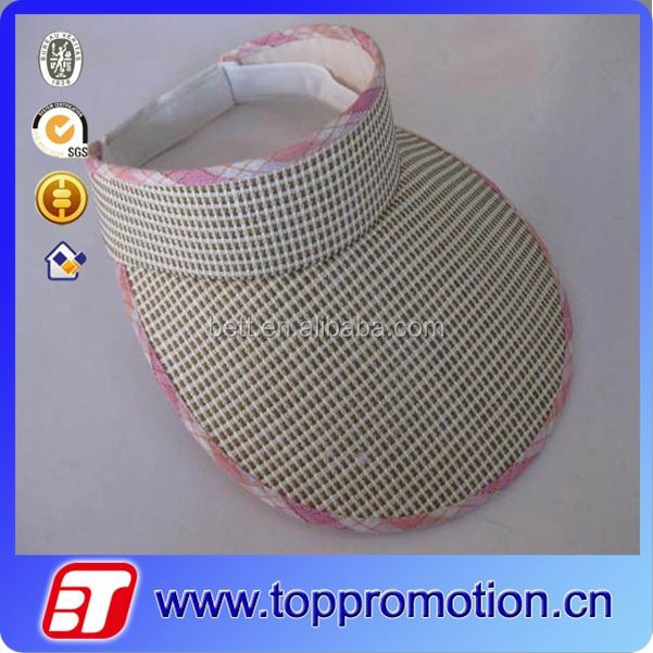 fashion summer men's sports visor/sun visor cap/ hat