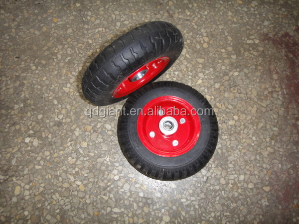 2.50-4 solid rubber wheel for tool cart