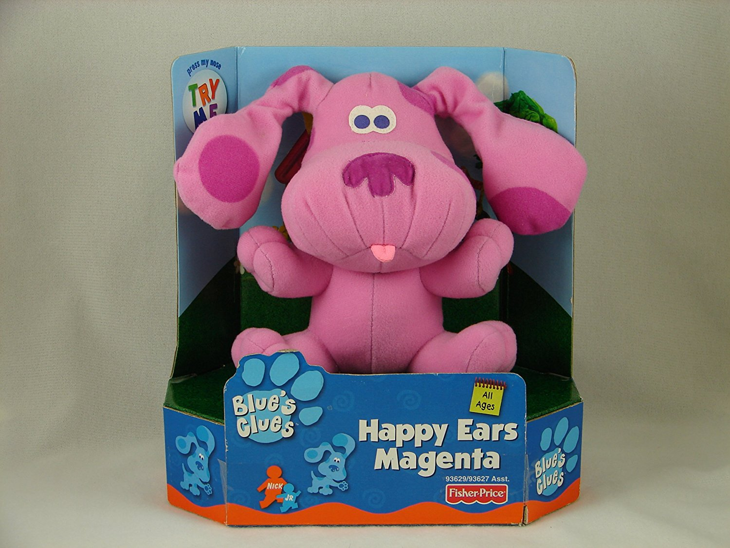 Buy Fisher Price Blues Clues Magenta Stuffed Animal In Cheap Price