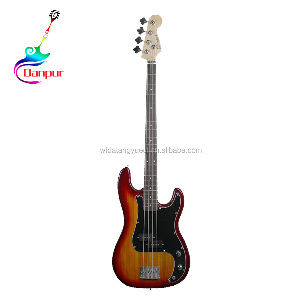 Wholesale high quality copy cheap diy bass guitar kit for sale