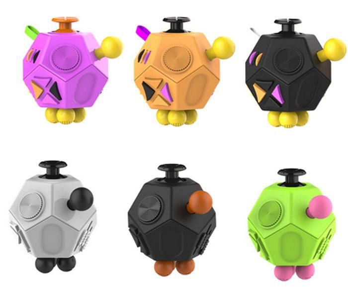 Spinner Fidget Cube 12 Sided Suppliers And Manufacturers At Alibaba
