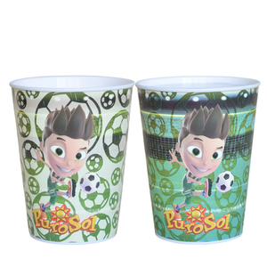 Manufacturer's custom colour changing magic plastic single layer pp cup
