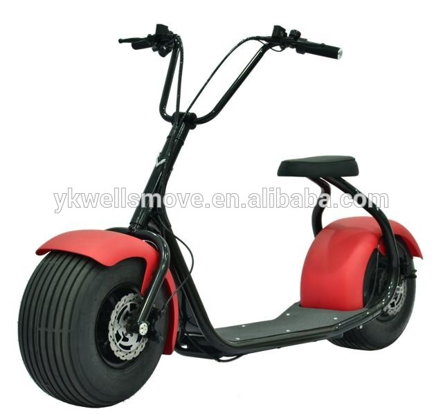 60v1000w grande roue trotinette electrique scooter buy for Big wheel motor scooter