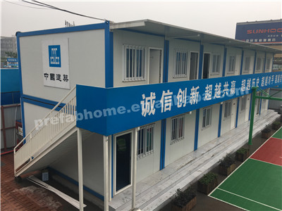Eco-friendly cheap waterproof /fireproof/wind resistant prefab container cabin prefabricated container bathrooms container house