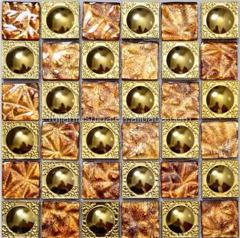 Artigianale Oro Vetro Mosaico Cucina,Nuovo Design Cucina In Vetro  Alzatina,Decorato Dimensione Del Chip Backsplash Cucina Piastrelle - Buy  Cucina ...