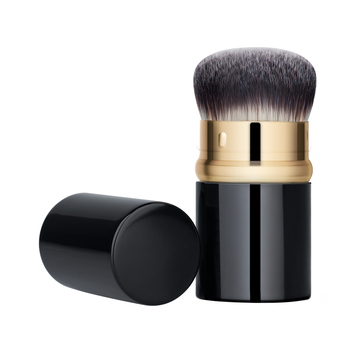 Best Portable Brush for Foundation Loose or Pressed Powder/Blush Powder- BLD Retractable Foundation Brush