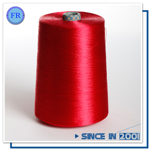 300d dyed viscose rayon filament flannel fabric yarn