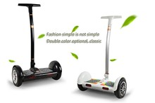 Smart 2 wheel chariot stand up electric scooter with flashing light