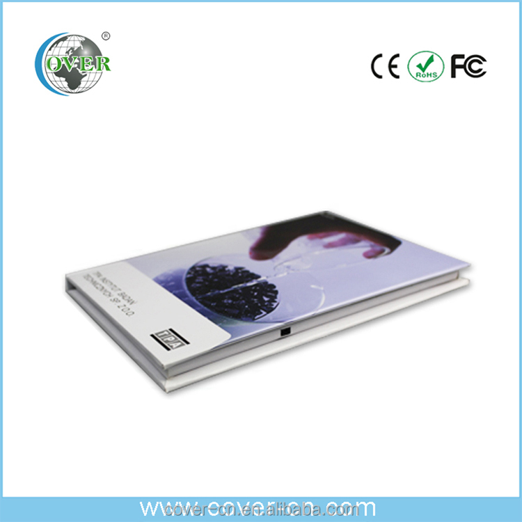 3.5 inch video card with multiple inner pages for promotion/Advertising/wedding