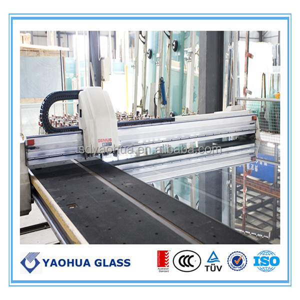 glass curtain wall /sliding door glass  panel wholesale  price
