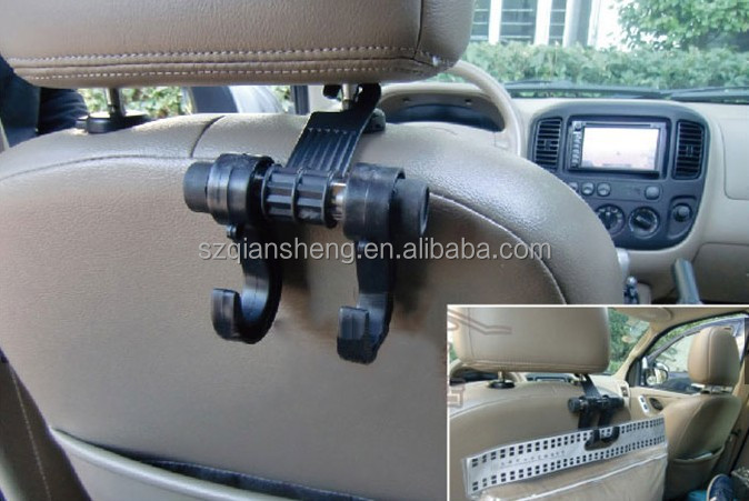 Car Accessories  Car Hanger Hook  Seat Back Car Hook Double Vehicle Hangers