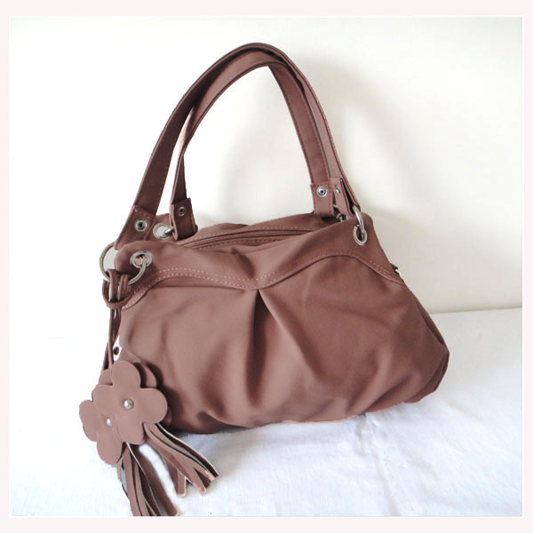 A0079(brown),wholesale designer women's bag,messenger bag,33 x 23cm,PU+ornament,4 different colors,two function,Free shipping!