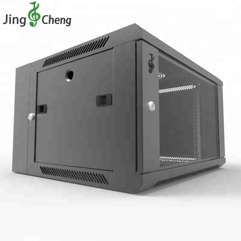Mini Home Network Cabinet Server Rack Wall Mount 6u