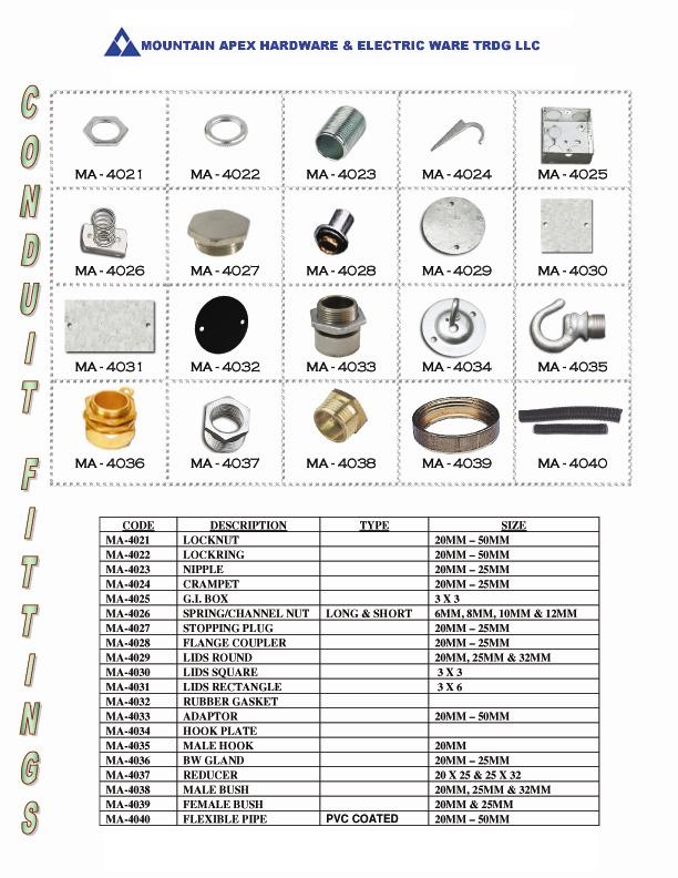 Steel Conduit Accessories Suppliers And Manufacturers At Alibaba