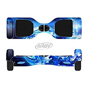 The Glowing Cloudy Planet Full-Body Wrap Skin Kit for the iiRov HoverBoards and other Scooter (HOVERBOARD NOT INCLUDED)