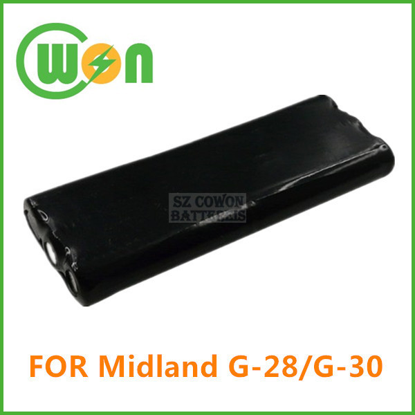 Walkie Talkie Battery for Midland G-28 G-30 20-555 Rechargeable Battery