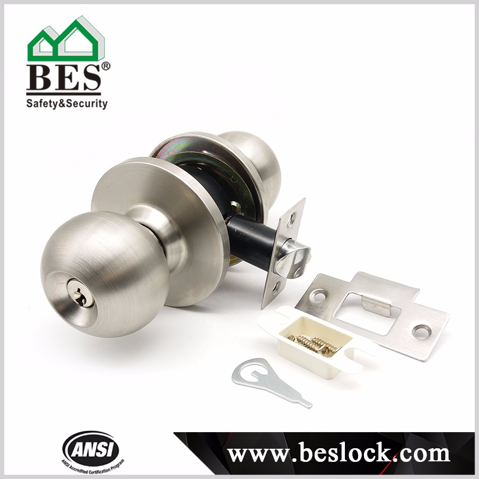 Ball Type Door Lock Cylindrical Round Knob Door Lock Buy