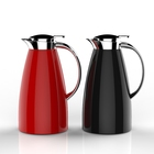 Hot sale heat resistant glass tea & coffee pot 1L coffee and tea pot stainless steel vacuum coffee pot