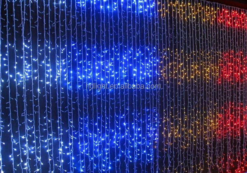 Factory  wholesale 50pcs/String Full Color DC5/12V Ws2811 or1903 RGB 4meter  Pixel LED string light for holiday  party ornament