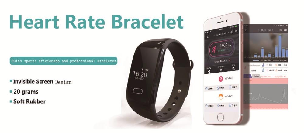 Jw018 Update Wristband Heart Rate Monitoring America Activity ...