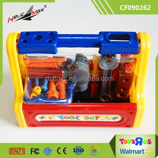 Kids Play Kit Toys Cheap Plastic Mechanic Bricolage Tool Toy