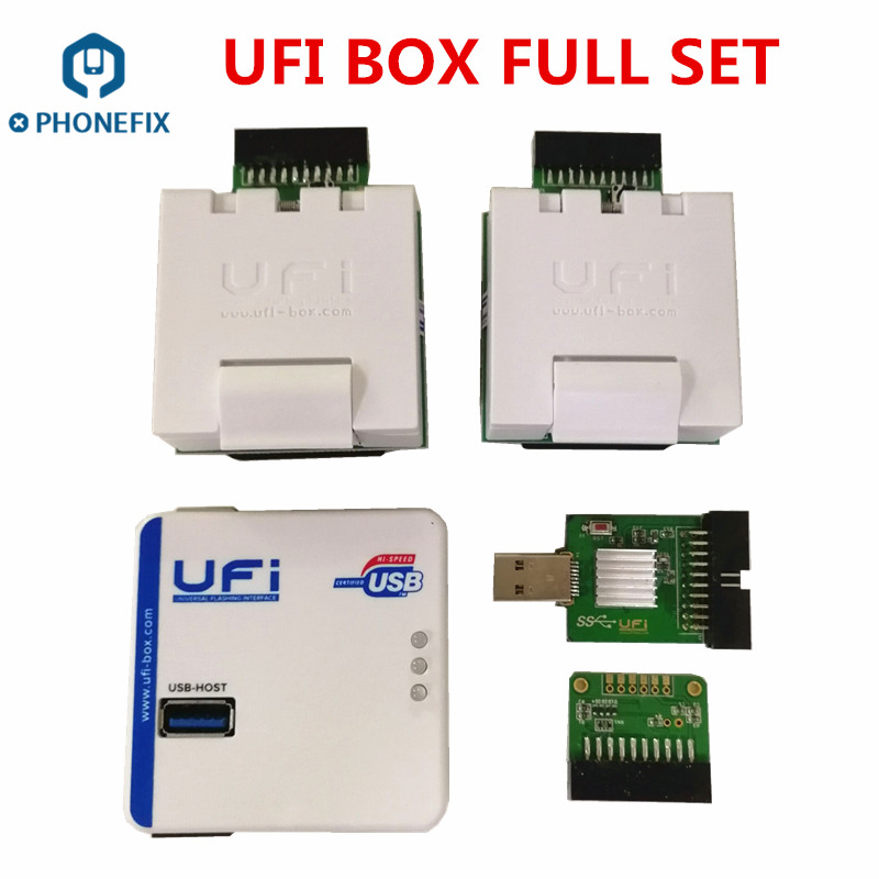 Phonefix Ufi Box Worldwide Version Emmc Service Tool Read Write Update  Firmware Emmc For Samsung China Phone Repair - Buy Emmc Service