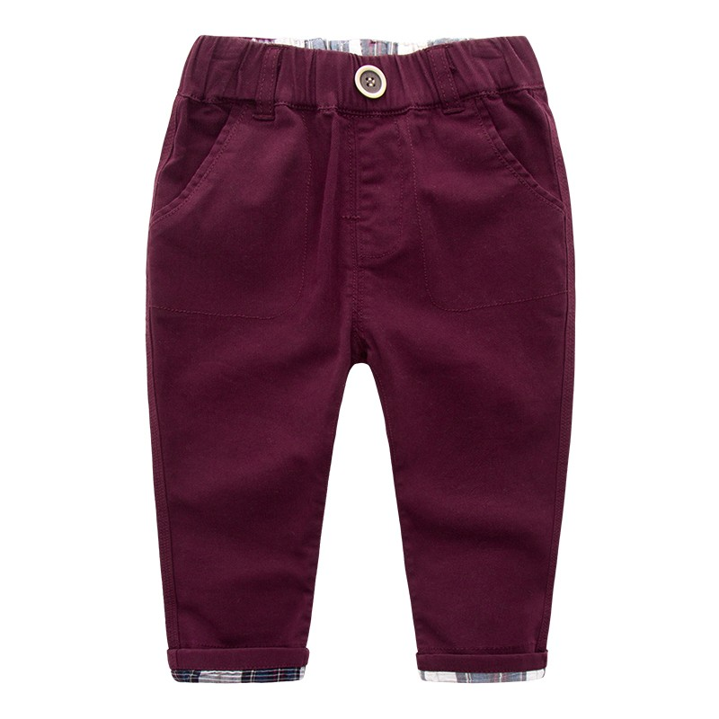 China Suppliers Boy Trousers Wholesale Kids Wear Winter Warm Children Jeans Trouser Pants