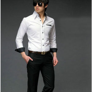 Onsale Fashion Men White Shirt Latest Matching Shirt And Pants ...