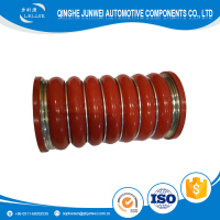 Automotive High Temperature Red Silicone Coolant Hose with rings