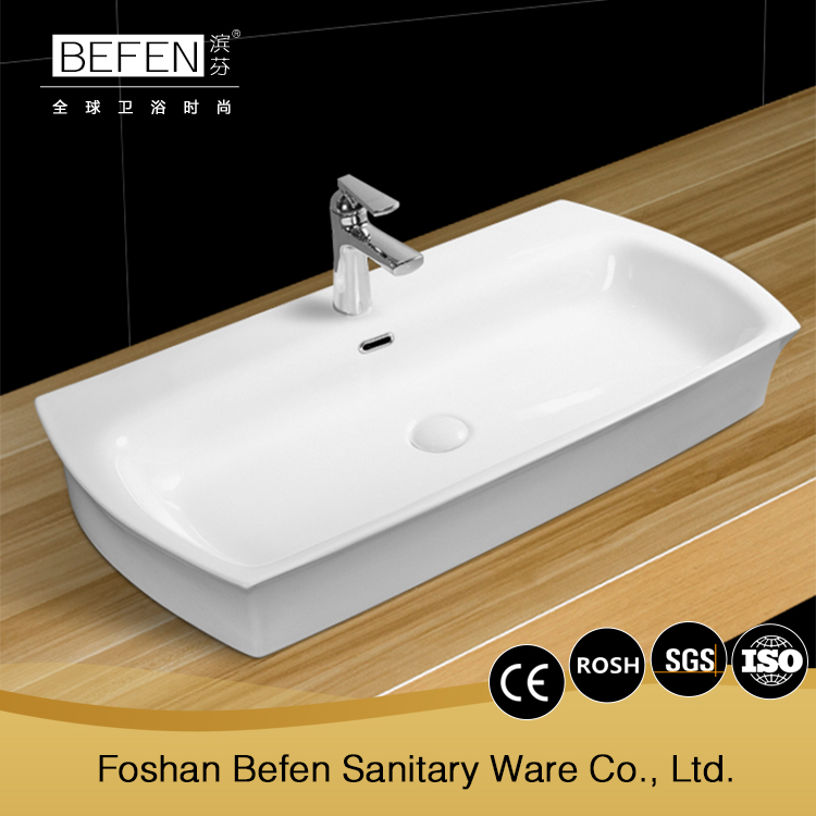 Popular design durable home or hotel porcelain wash art basin malaysia price