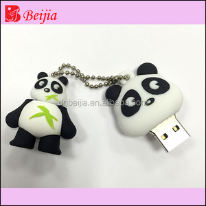 cartoon anime usb flash drive, pendrive 4GB with rubber usb case