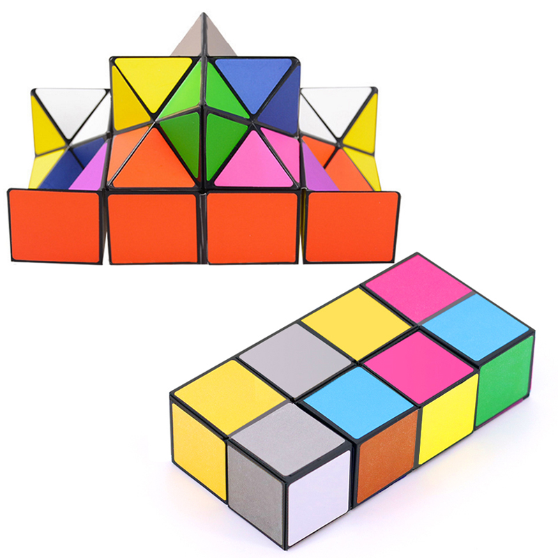 Speed Cube stickerless 3*3*3 Magic Cube Puzzle Toy for Kids & Adults