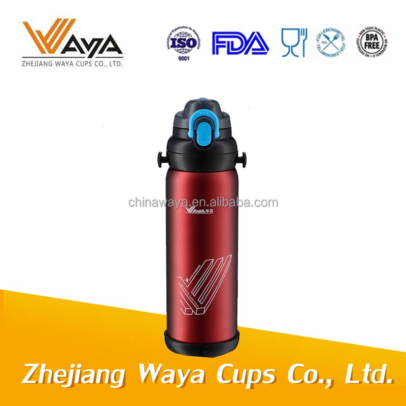 600/880ml Stainless steel vacuum water bottle (SGS approved)