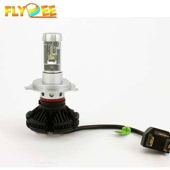 Super bright x3 6000lm h7 led headlight bulb h1 h3 h4 h11 9005 9006 9004 9007 h13 led headlight
