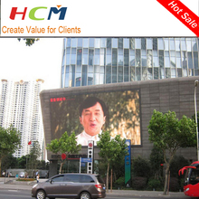 New technology hot sale indoor/outdoor full color LED smd display media screen on facade for advertising