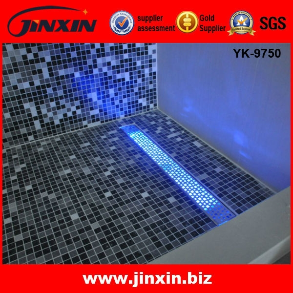 Led Light Aisi Long Stainless Steel Shower Drain Floor Grate Drain ...