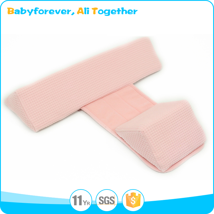 Memory Foam Baby Crib Wedge Pillow Sleep Positioner For Baby Mattress