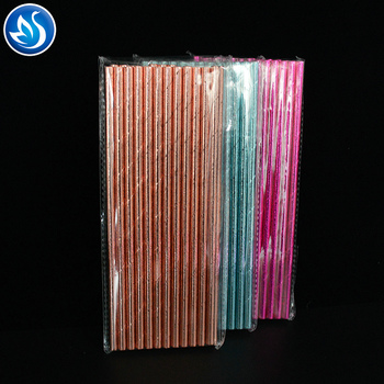 Customize High Quality Party Supply Paper Drinking Straws