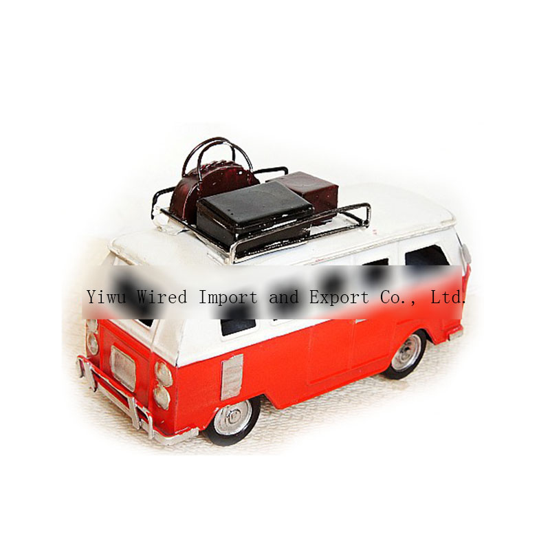 Wholesale Metal Craft Artificial Antique Mini Car Craft Toy