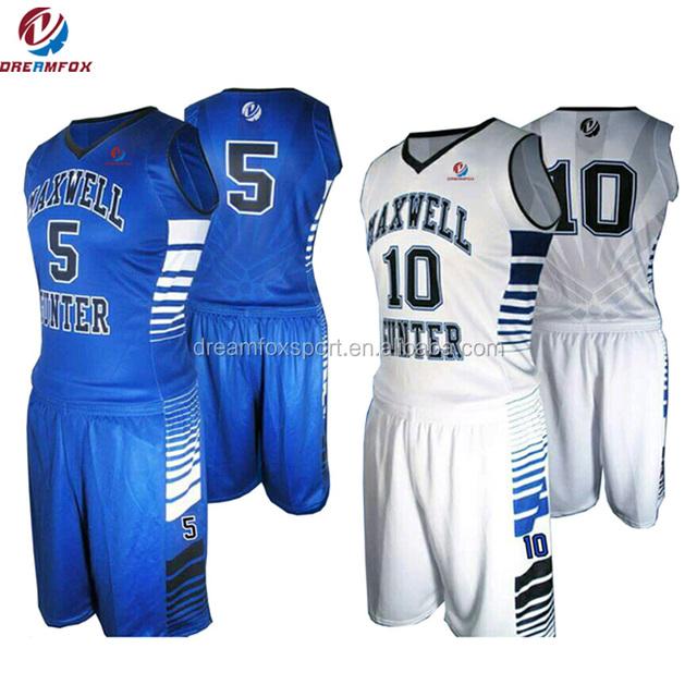b224947a01b 2017 wholesales blank latest best Sublimated reversible Custom Basketball  Jerseys design