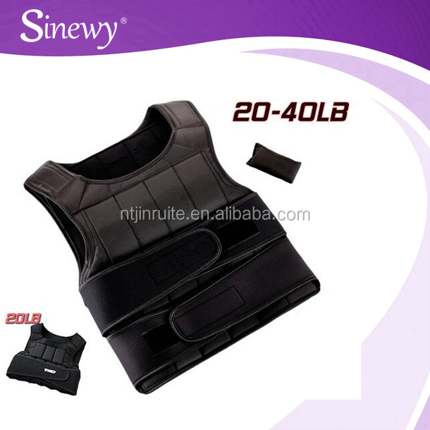 Fitness Sand Adjustable Weight Vest In Running
