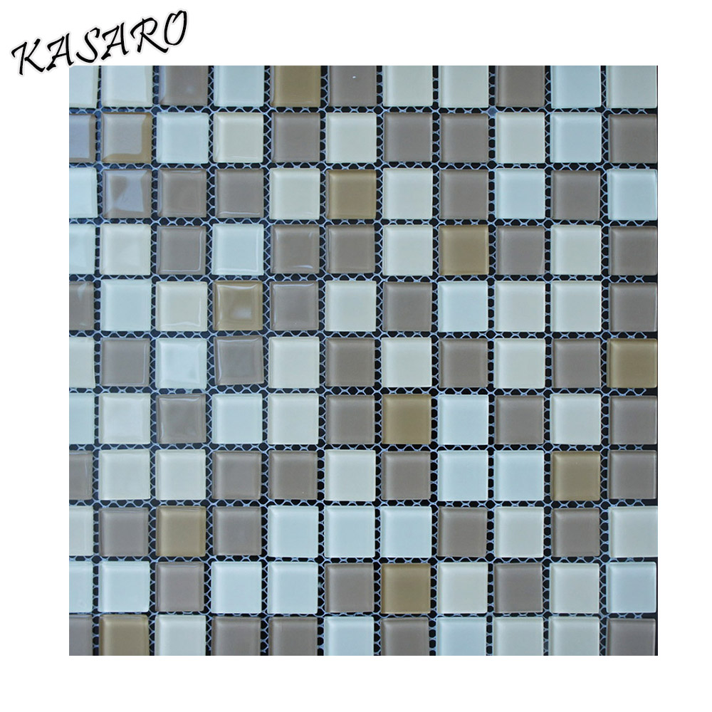 100 Tiles 10x10mm Mirror Glass Mosaic Tiles 3mm thick